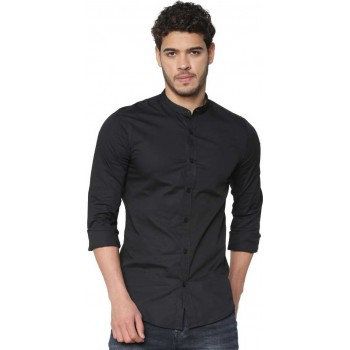 Only N Sons Men Solid Casual Wear Shirt