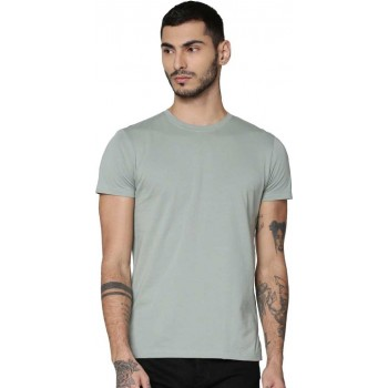 Only N Sons Men Solid Casual Wear T-Shirt