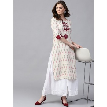 Pannkh Women Ethnic Wear Printed Kurta