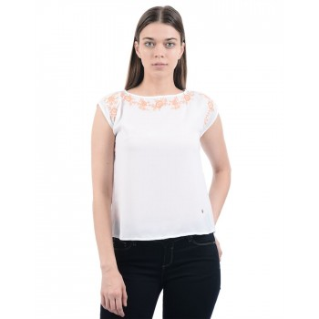 Pepe Jeans Women Embroidered Top