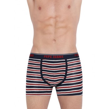 Pepe Jeans London Men Striped Trunk