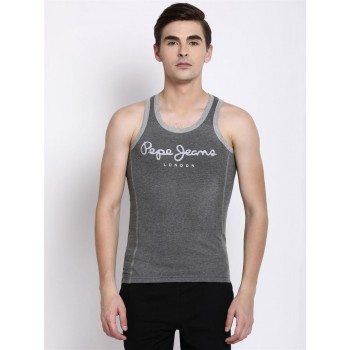 Pepe Jeans London Men Graphic Print Sports Vest