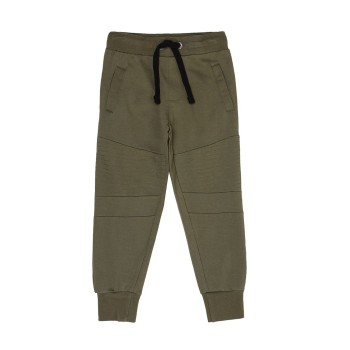 Pepe Jeans Boys Solid Green Track Pants