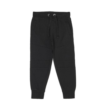Pepe Jeans Boys Solid Black Track Pants