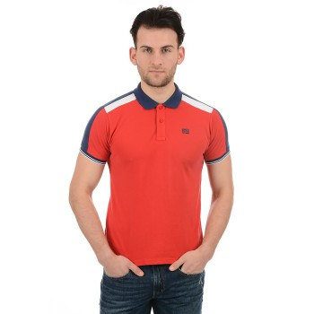 Pepe Jeans Men Casual Wear Red T-Shirt