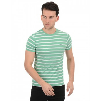 Pepe Jeans Men Casual Wear Green T-Shirt