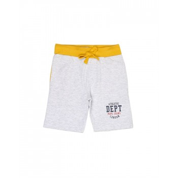 Pepe Jeans Boys Solid Grey Shorts