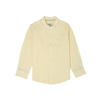Pepe Jeans Boys Solid Yellow Shirt