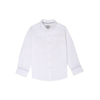 Pepe Jeans Boys Solid White Shirt