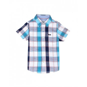 Pepe Jeans Boys Checkered Multicolor Shirt