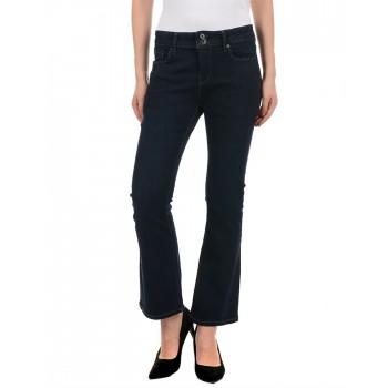 Pepe Jeans Women Casual Wear Blue Bootcut Jeans