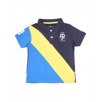 Pepe Jeans Casual Wear Colorblock Boys T-shirt