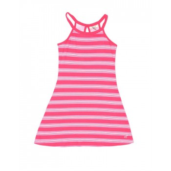 Pepe Jeans Casual Wear Striped Girls Dresses