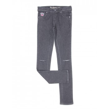 Pepe Kids Casual Wear Black Jeans For Girls