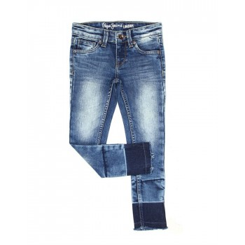 Pepe Jeans Casual Wear Solid Girls Jeans
