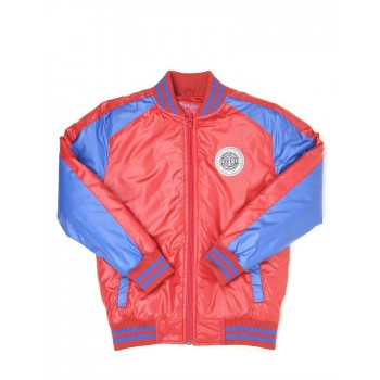 Pepe Jeans Red Casual Wear Jacket