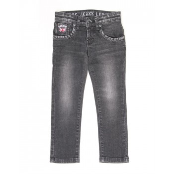 Pepe Kids Casual Wear Grey Jeans For Boys