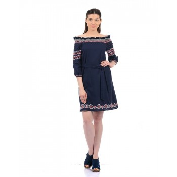 Pepe Jeans Women Embriodered Dress