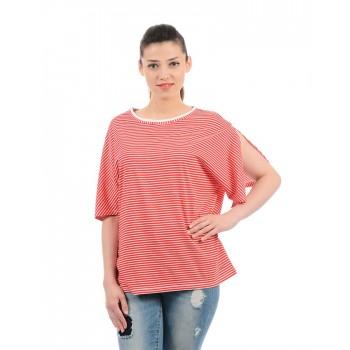 Pepe Jeans Women Striped T-Shirt