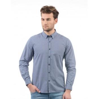 Pepe Jeans Men Printed Casual Wear Shirt