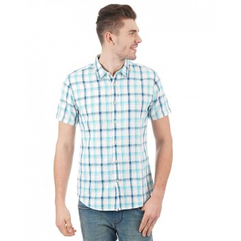 Pepe Jeans Men Checkered Casual Wear Shirt