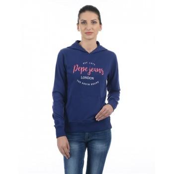Pepe Jeans Women Graphic Hoodie Sweatshirt