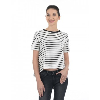 Pepe Jeans Women Striped T-Shirt