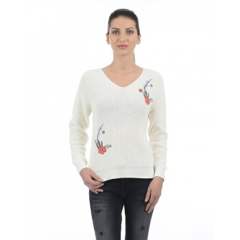 Pepe Jeans Women Floral Sweater