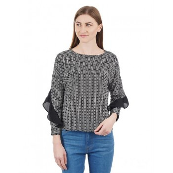 Pepe Jeans Women Abstract Top