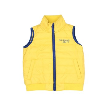 Pepe Jeans Yellow Casual Wear Jacket