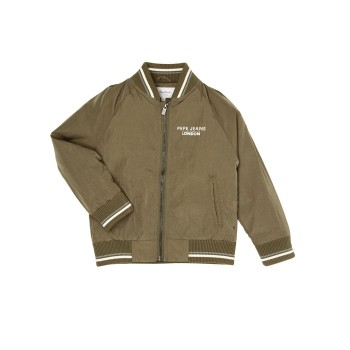 Pepe Jeans Olive Casual Wear Jacket
