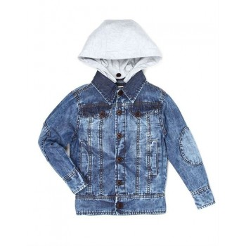 Pepe Kids Casual Wear Blue Jacket For Boys