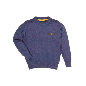 Pepe Jeans Blue Casual Wear Sweater
