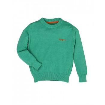 Pepe Jeans Green Casual Wear Sweater