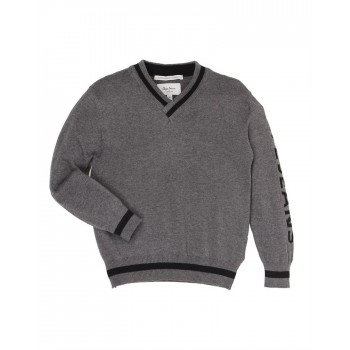 Pepe Jeans Grey Casual Wear Sweater