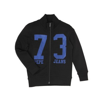 Pepe Jeans Black Casual Wear Sweatshirt
