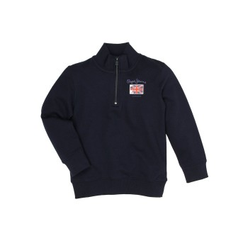 Pepe Jeans Blue Casual Wear Sweatshirt