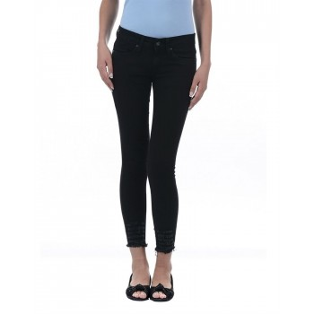 Pepe Jeans Women Solid Ankle Jegging