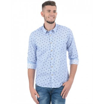 Pepe Jeans Men Printed Casual Wear Shirt