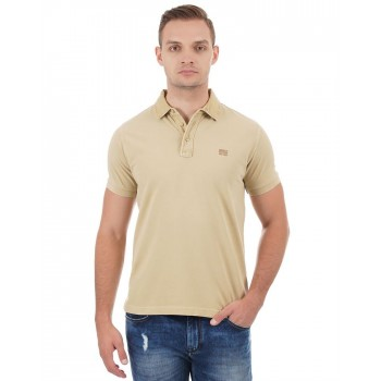 Pepe Jeans Men Solid Casual Wear T-Shirt