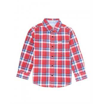 Pepe Kids Casual Wear Red Shirt For Boys