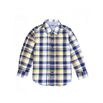 Pepe Kids Casual Wear Yellow Shirt For Boys