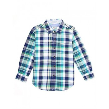 Pepe Kids Casual Wear Green Shirt For Boys