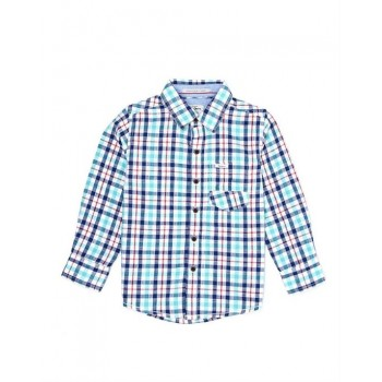 Pepe Kids Casual Wear Blue Shirt For Boys