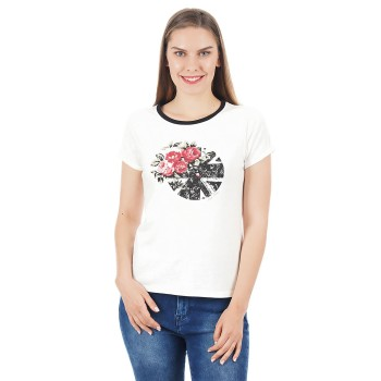 Pepe Jeans Women Graphic T-Shirt