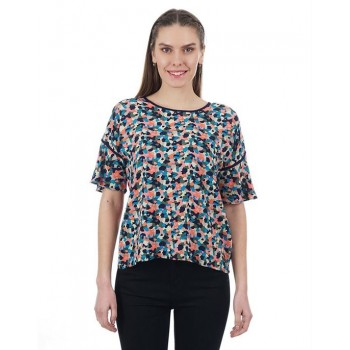 Pepe Jeans Women Abstract Print Top
