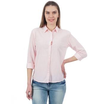 Pepe Jeans Women Vertical Striped Shirt