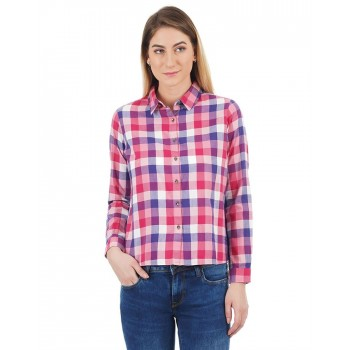 Pepe Jeans Women Checked Shirt