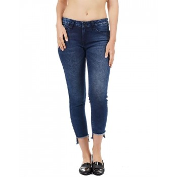 Pepe Jeans Women Solid Ankle Jean