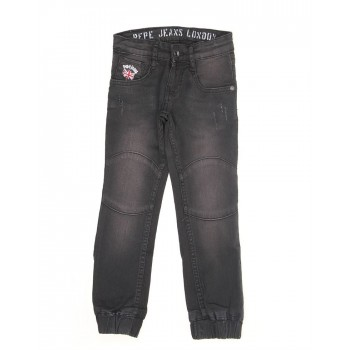 Pepe Kids Casual Wear Black Jeans For Boys